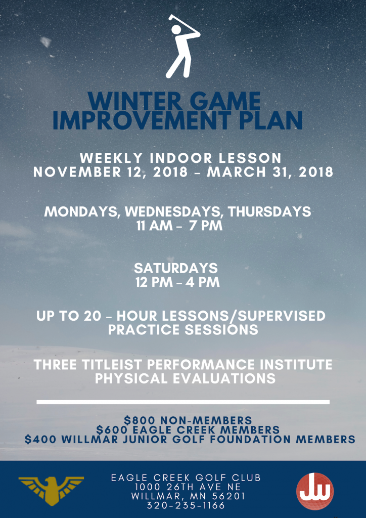 WINTER GAME IMPROVEMENT PLAN